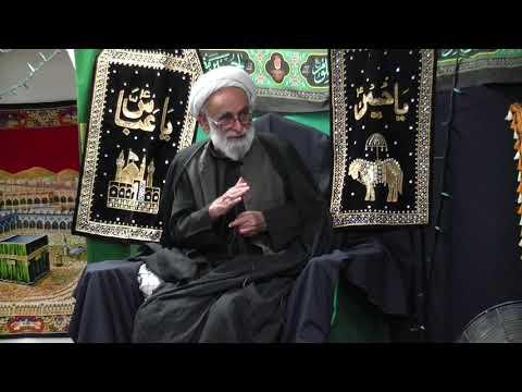 Majlis 7th Muharam 1440 Hijari 18th September 2018 By Molana Haider Ali Jawadi at Buturab Society Hamilton - Urdu