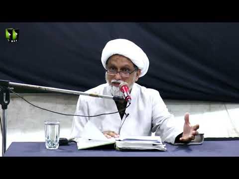 [Lecture] Topic: Ziyarat-e-Ashura | H.I Dr. Aqeel Musa | Muharram 1440 - Urdu