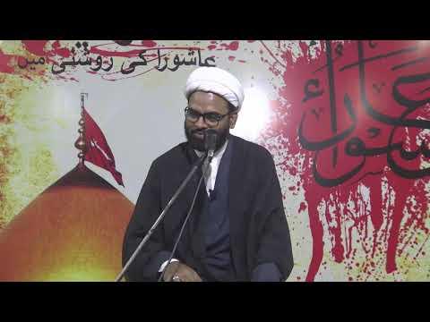 #7 Agha Akthar Abbas Jaun  Topic:Wilayath - Ashura Ki Roshni Me - Urdu