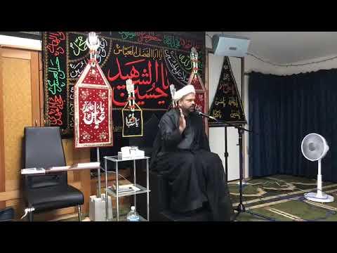 Majlis 1st Muharram 1440 Hijari - Irfan-E-Imamat By H I Ghulam Raza Roohani-Babul ilm Imambargah Tokyo-Urdu