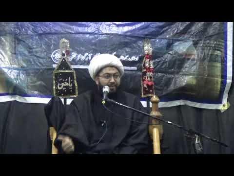 Majlis e Aza Shahadat e Imam Zain Ul Abideen a.s Topic: Maqam E Ahlebait By Allama Sajid Vakil at Bhojani Hall - Urdu