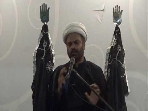 Majlis e Aza Wafaat e Rasool(SAWW) Kay 3 Din Baad By Molana Ghulam Raza Roohani - Urdu