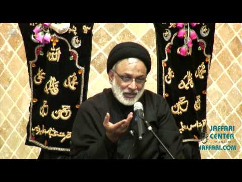 Majlis e Aza 25th Muharram 1434 Hijari December 2012 Speaker: Maulana Qazi Syed Muhammad Askari - Urdu