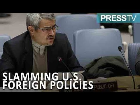 """[16 October 2018] \""""U.S. uses threats as foreign policy tool\"""" - English"""