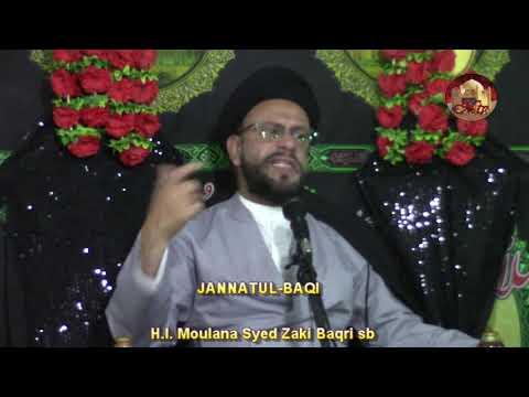 5th Majlis 6 Safar 1440 Hijari 16.10.2018 Topic: Let\\\'s Understand Our Children By H I Syed Muhammad Zaki Baqri - Urdu