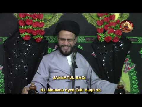 6th Majlis 7 Safar 1440 Hijari 17 October 2018 Topic: Let\\\'s Understand Our Children By Syed Muhammad Zaki Baqri-Urdu