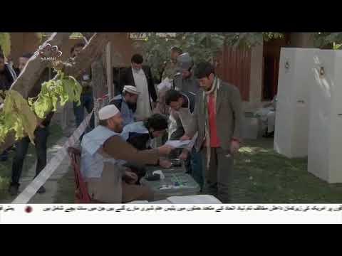 [20Oct2018] افغان انتخابات مختلف علاقوں میں دہشت گردانہ حملے-Urdu