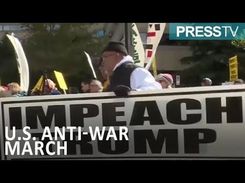 [22 October 2018] Activists protest US military actions overseas - English