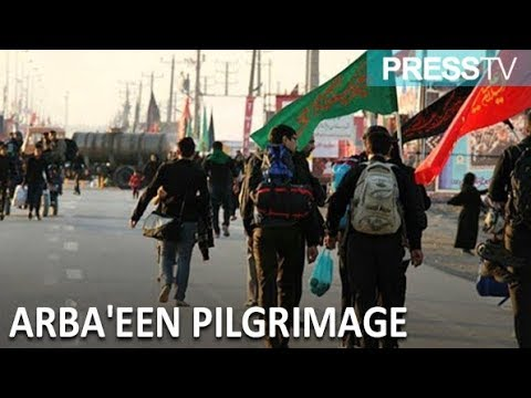 [22 October 2018] Thousands of Iranians trek to Karbala for Arba\'een - English