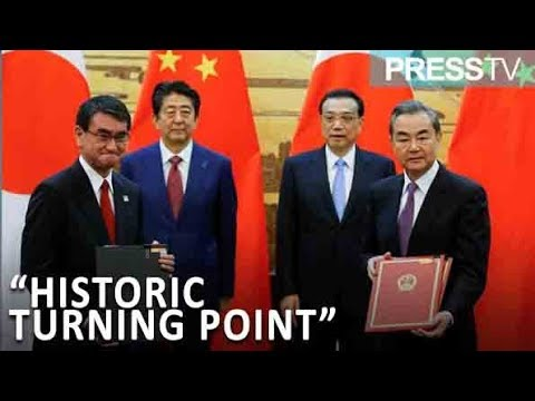 "[27 October 2018] Japan-China relations at ""historic turning point\"" - English"