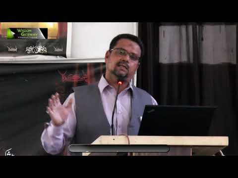 Yom e Hussain یومِ حسین ع | Prof.Zahid Ali Zahidi - Urdu