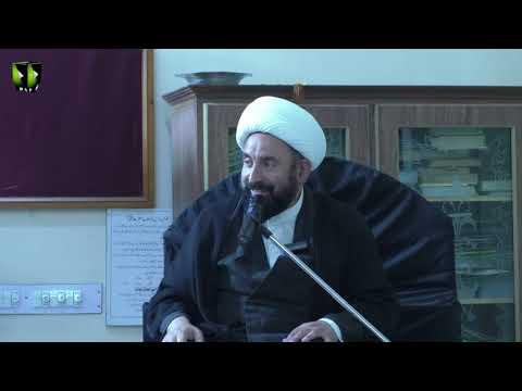 [2]Ezat aur Zillat ka mayar Quran O Ahlybat(A) ki Roshni mai | H.I Mirza Hussain Sabri - Urdu