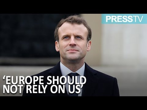 [7 November 2018]  Macron calls for \'Euro army\' to defend against US, Russia - English