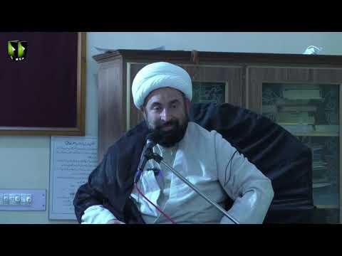 [5]Ezat aur Zillat ka mayar Quran O Ahlybat(A) ki Roshni mai | H.I Mirza Hussain Sabri - Urdu