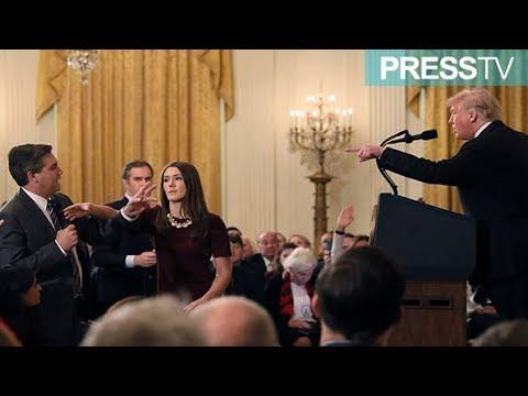 [8 November 2018] Donald Trump calls CNN reporter a \'rude, terrible\' person - English