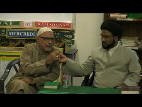 1st Dars 07 Mahe Ramzan 1439 Hijari 2018 Speaker: Moulana Syed Zaigham Rizvi - Urdu