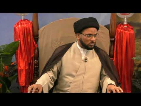 1st Majlis 06 Mahe Ramazan1439 Hijari 2018 Speaker: Allama Syed Zaigham Rizvi - Urdu