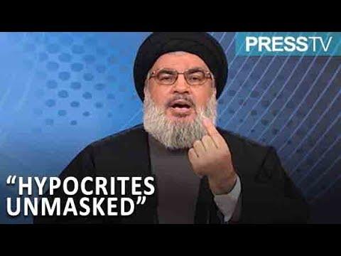 [11 November 2018]  Nasrallah slams Arab states\' ties with Israel - English