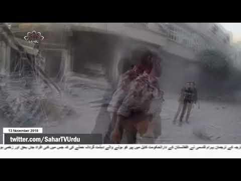 [13Nov2018] شام میں امریکا کی فضائی جارحیت   -Urdu