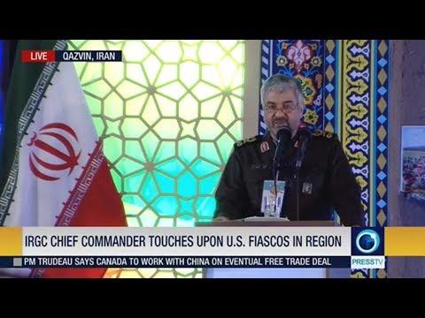 [15 November 2018] IRGC chief commander touches upon U.S. fiascos in region - English