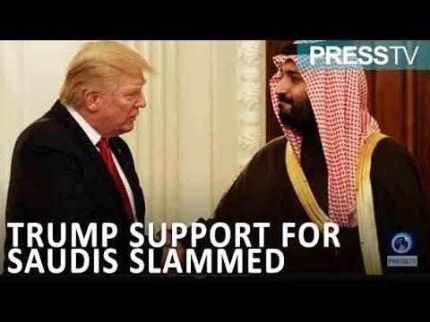 [27 November 2018] US lawmakers slam Trump\'s support for Saudi Arabia after Khashoggi killing - English