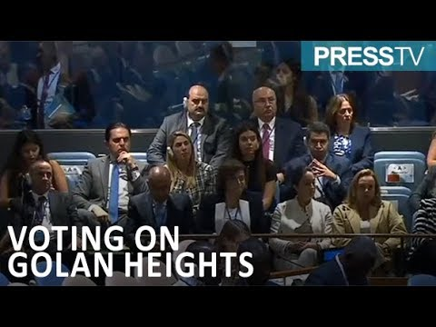 [1 December 2018] UN once again urges Israel to withdraw from Golan Heights - English
