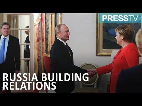[2 December 2018] Putin and Merkel enjoy sausages and caviar at working breakfast - English
