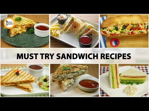 [Quick Recipes] Must try sandwich recipes - English Urdu