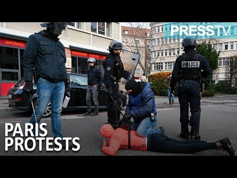 [10 December 2018] High school students arrested in Paris as unrest continues - English