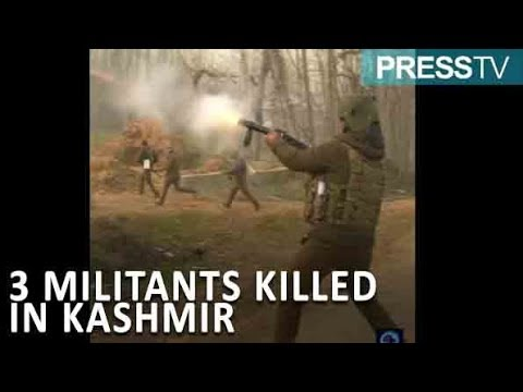 [11 December 2018] WATCH: Indian troops kill 3 militants in Kashmir, spark local protests - English