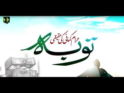 [Clip] Haram Kamae Ke Haqeqi Touba| H.I Ali Murtaza Zaidi - Urdu