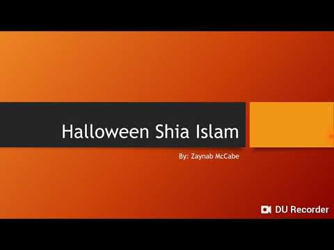 Halloween Shia Islam  - English