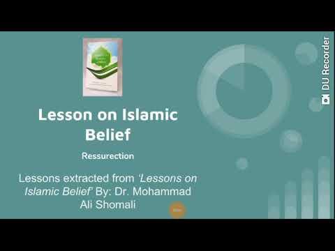 Ressurection Shia Beliefsin English  - English