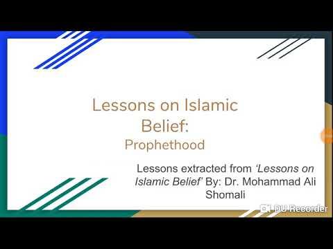 Prophethood: Shia Islamic Belief in Brief in  - English