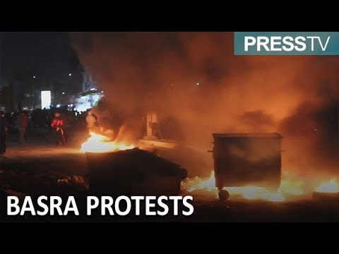[16 December 2018] Iraq: Anger over corruption spills out onto Basra streets - English