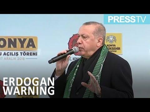 [18 December 2018] Erdogan: Turkey may start new Syria op. any moment - English