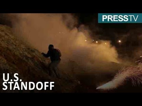 [2 January 2019] U.S. border patrols use tear gas against migrants - English