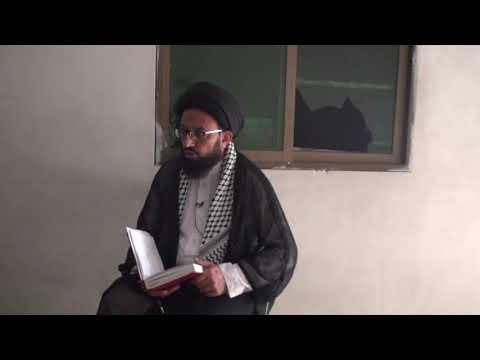 [Dars 2] Imam Shanasi - امام شناسی | H.I Sadiq Raza Taqvi - Urdu