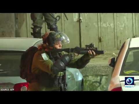 [8 January 2019] Ramallah: Israeli forces clash with Palestinians - English