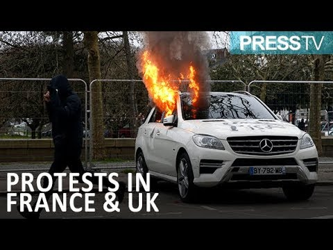 [13 January 2019] News Review - Yellow Vest protests in France in UK - English