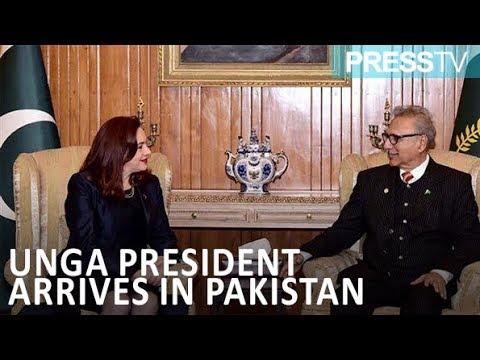 [19 January 2019] UNGA President arrives in Pakistan - English