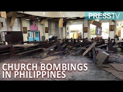 [27 January 2019] Church bombings in south Philippines killed at least 19 - English