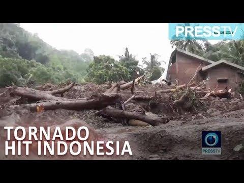 [28 January 2019] Scores killed after floods, landslides, tornado hit Indonesia - English