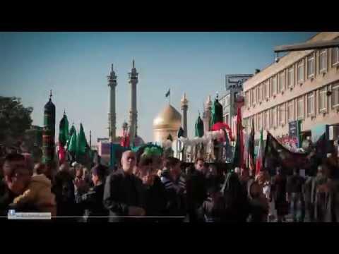 Documentry: Timelapse Iran Qom - The Day of Arbaeen Imam Hussain a.s. -Urdu