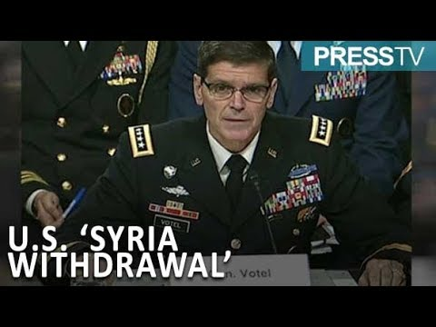 """[06 Feb 2019] Top US general \""""not consulted\"""" on Trump\'s Syria pullout - English"""