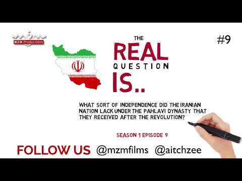 Season 1|Episode 9|The Real Question Is|11th February Islamic Revolution Iran|Imam Khomeini Returns-urdu