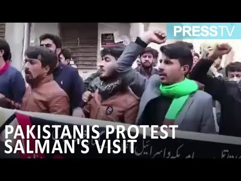 [17 Feb 2019] Pakistanis protest Salman\'s planned visit - English