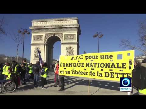 [24 Feb 2019] Yellow Vests continue to rock France with huge demos - English