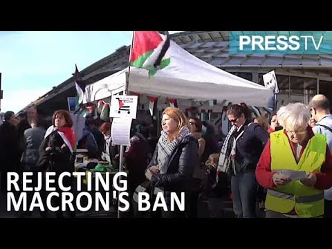 [25 Feb 2019] French demo rejects Macron's anti-Zionism ban - English
