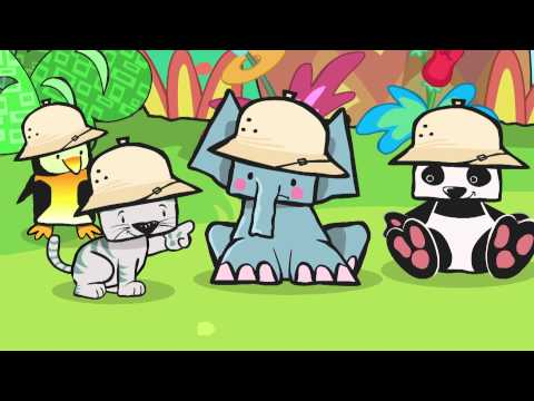 [Cartoon] Mega Minimals - Camouflage - English